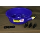 Blue Bowl Concentrator and Leg Leveling Clips