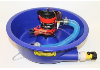 Blue Bowl With Pump